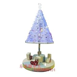 电动旋转圣诞树